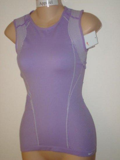 Nwt M/L NIKE Women Fit Dry Seamless Instinct Top New Medium Large 207478-545