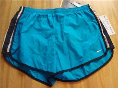 Nwt L 12-14 NIKE Women Fit Dry Running Track Shorts New Large 211071-334
