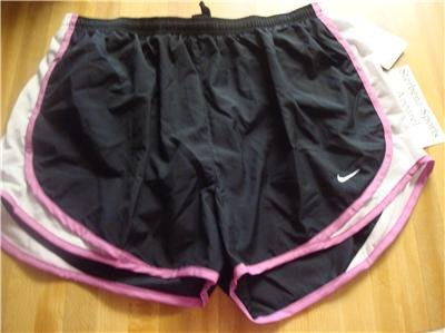 Nwt XL NIKE Women FitDry Tempo Running Track Shorts New Xlarge 211646-031