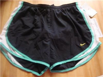 Nwt L NIKE Women Fit Dry Tempo Running Track Shorts New Large 211646-023