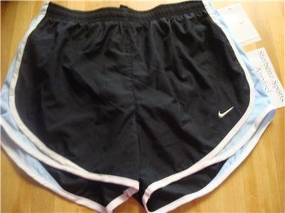 Nwt L NIKE Women Fit Dry Tempo Running Track Shorts New Large 211646-035