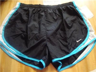Nwt L NIKE Women Fit Dry Tempo Running Track Shorts New Large 211646-024
