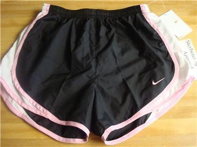 Nwt M NIKE Women Fit Dry Tempo Running Track Shorts New Medium 211646-040