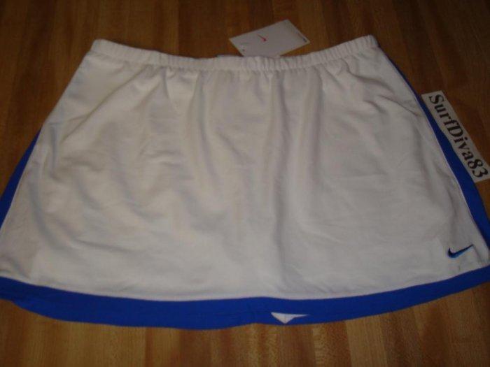 NwT XL NIKE DRI-FIT Border Tennis Skirt Women New $50 XLarge 241880-198