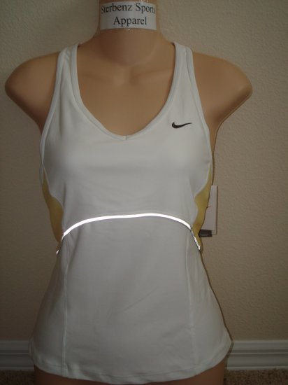 Nwt L NIKE Fit Dry Women Personal Best Fitness Top New Large 255779-101