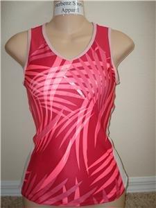 Nwt XS NIKE Women Fit Dry Border Print Tank Top New $45 XSmall 257941-699