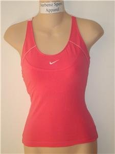 Nwt XS NIKE Women Fitness Racer Tank Top Shirt New XSmall 234415-838