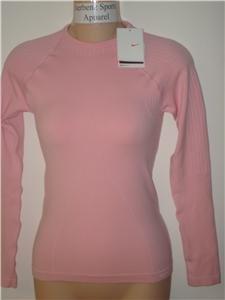 Nwt S/M NIKE Women Fit Dry Long-Slv Core Warmer Top New Small Medium 227512-627