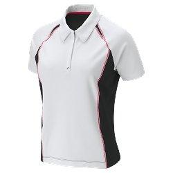 Nwt M NIKE GOLF Women Fit Dry Sphere Polo Top New $60 Medium 256837-010
