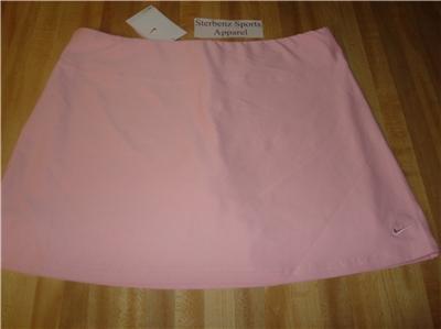 Nwt M NIKE Women Fit Dry Power Tennis Skirt New $50 Pnk Medium 127806-627