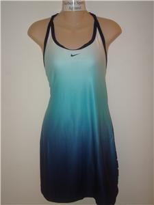 Nwt XL NIKE Women Fit Dry Serena Tennis Dress New $105 XLaRGE 228049-475