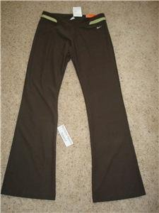 Nwt L NIKE Women Fit Dry Modern Fitness Pants New $60 Large 207249-261