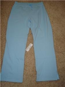 Nwt L NIKE Women Light Blue Fitness Jogging Pants New Large 294742-423