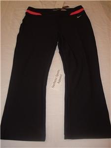 Nwt XL NIKE Women FitDry Modern WorkOut Capri Pants New XLarge 207250-016
