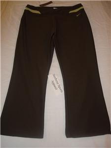 Nwt M NIKE Women Fit Dry Modern WorkOut Capri Pants New Medium 207250-261