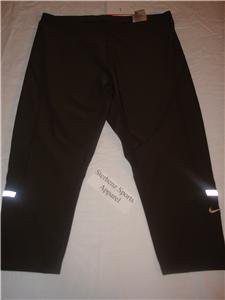 Nwt M NIKE Women Fit Dry Acceleration Capri Pants New Medium 234589-261