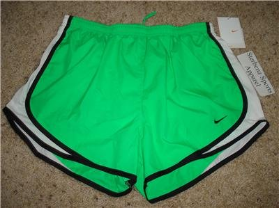 Nwt M NIKE Women Fit Dry Tempo Running Track Shorts New Medium 211646-301