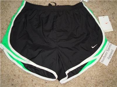 Nwt M NIKE Women Fit Dry Tempo Running Track Shorts New Medium 211646-039