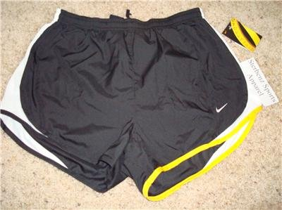 Nwt M NIKE Women Tempo Running Shorts New LIVESTRONG Medium 239930-010