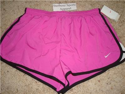 Nwt M NIKE Women Fit Dry Road Race 2 Running Shorts New Medium 228617-673