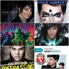 Adam Lambert - Album,Live & Remix 2009-2014 (MP3 Download Only-NO CD)