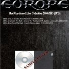 Europe - Best Unreleased Live Collection 2004-2005 (Download-NO CD)