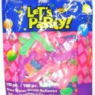 100 Neon Party Water Balloons
