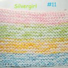 """XX Lrg 8"""" x 12"""" Extra Thick Knit Hot Pads YOU CHOOSE COLOR set #2"""