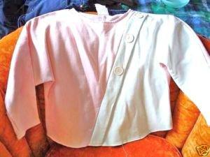 Pink White Teens Fancy Sweatshirt Size 16