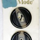 La Mode Vintage 4 Hole Brown Cream Streaked Buttons