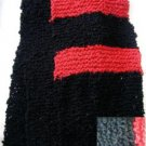 "Popcorn Yarn Hand Knit Scarf  59 x 7"""