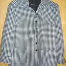 Vintage Houndstooth Black and White Blazer Jacket