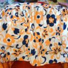 Bold Navy Orange White Apron  2