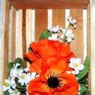 FLOWER ARRANGEMENT IN A CUTE CRATE