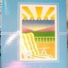 """Beach Chair Photo Album  13 1/2 x 10 1/2"""""""