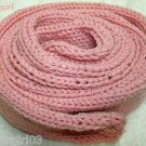 """OOAK Knit Soft Pink (Rose Marie) Tube Scarf  Approx 84"""" long x 3"""" Wide"""