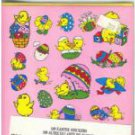 160 Easter Stickers 2 Sheets of Each 4 Colors