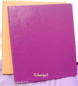 """Set of 2-3 Ring  1 1/2"""" Hard Cover Binders"""