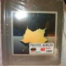 "20 Page NEW Gold Leaf Photo Album 10"" x 11"""
