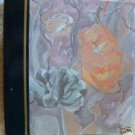 "Thick Floral Painting Photo Album 11""x11/2"""