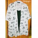 PS Classic 100% Polyster Ladies Blouse w Shell   sz 28