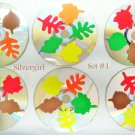 Autumn Leaves Drink Coaster Set of 6