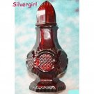 AVON COLLECTOR Red Perfume Bottle Salt or Pepper