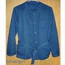 Vintage 2 piece Dusty Blue Lady's Liesure Suit