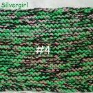 """XX Lrg 8"""" x 12"""" Extra Thick Knit Hot Pad #4"""