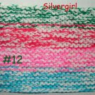 """XX Lrg 8"""" x 12"""" Extra Thick Knit Hot Pad #12"""