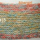 """XX Lrg 8"""" x 12"""" Extra Thick Knit Hot Pad #15"""