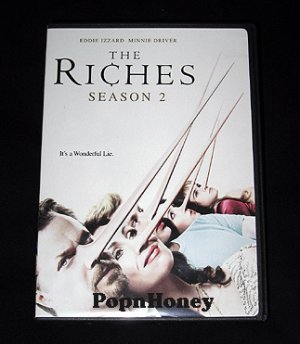 THE RICHES Season 2 DVD Two Disc Edition 7 Episodes