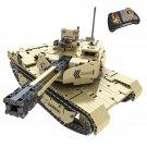 YARMOSHI RC Building Blocks Tank Turret Gun Engineering Educational STEM 1276 PCS