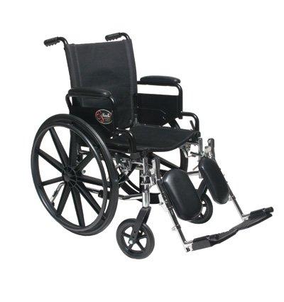 """New Ultra Light Extra Wide 20"""" Lightweight Wheelchair/Wheel Chair"""